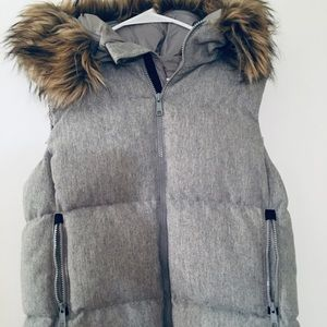 Gap Winter Wear Puffer Vest with Fur